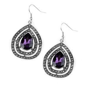 💍 5 for $25 sale! 💍 Purple Earrings